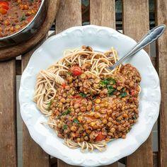 Zsályás lencseragu Fried Rice, Fries, Ethnic Recipes, Food, Essen, Meals, Nasi Goreng, Yemek, Stir Fry Rice