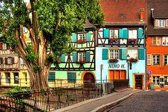 Colmar, France #Colmar #Alsace #France