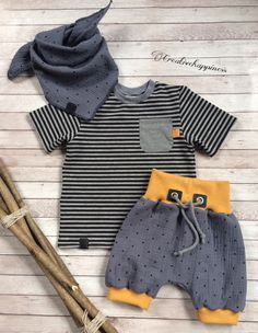 WiA_Handmade Baby Boy Fashion, Kids Fashion, Gender Neutral Baby Clothes, Baby Pants, Baby Kids Clothes, Little Girl Dresses, Baby Sewing, Baby Boy Outfits, Babies