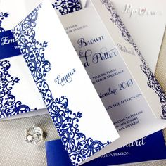 25 Wonderful Picture of Royal Blue Wedding Invitations Royal Blue Wedding Invitations 14 Royal Wedding Invitation Designs And Examples Psd Ai Modern Wedding Invitation Wording, Wedding Invitation Video, Elegant Wedding Invitations, Wedding Invitation Templates, Creative Wedding Favors, Elegant Wedding Favors, Wedding Favors Cheap, Wedding Ideas, Wedding Venues