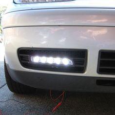 Kit Proiectoare LED DRL DayTime/8500 Lumeni/55W/AUDI BMW VW OPEL