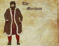 Merchant, Middle Ages.