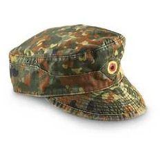 Bundeswehr German Military M43 Field Cap Flecktarn Hat