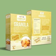 A Simple Day Granola Box Design by kec99
