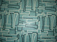 vintage 1950's linoleum patterns | house and garden wednesday