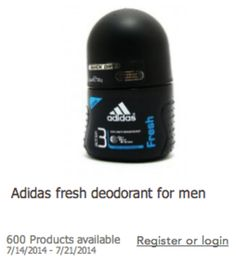 FREE Adidas Deodorant for men!  (PLUS Get paid to give your opinion with Toluna!) http://www.couponcloset.net/earn-money-toluna-survey-company-accepting-applicants/