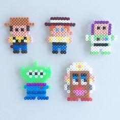 Toy Story hama beads by sarahabbondio                                                                                                                                                     More
