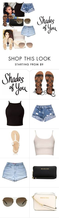 """""""Shades of You: Sunglass Hut Contest Entry"""" by heyitsamber115 ❤ liked on Polyvore featuring Billabong, Forever 21, Topshop, Michael Kors, Tiffany & Co., MICHAEL Michael Kors, Ray-Ban and shadesofyou"""