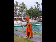 Luau King at King Kamehameha's Kona Beach Hotel, Big Island Hawaii. Learn more: http://www.hawaiipictureoftheday.com/make-way-for-the-king/