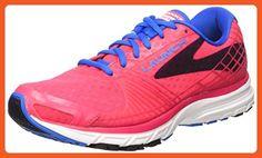 Brooks Womens Launch 3 Myla Pink/Electric Blue Lemonade/Black 6.5 B - Athletic shoes for women (*Amazon Partner-Link)