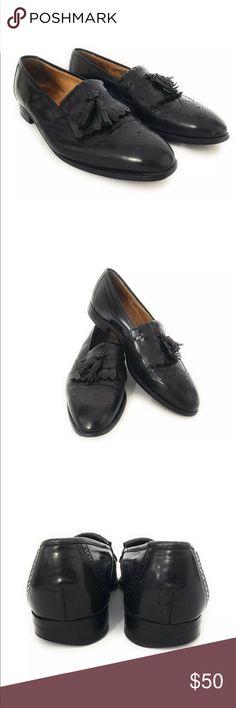 Johnston & Murphy Black Tassel Wingtip Men 11.5 D Brand: Johnston & Murphy Optima Tassel Wing Tip Loafers Shoes Men's  Condition: Excellent Pre-Owned  Material: Leather Size: 11.5 D Johnston & Murphy Shoes Loafers & Slip-Ons