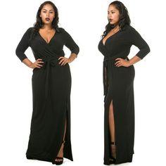 Selene Black Dress