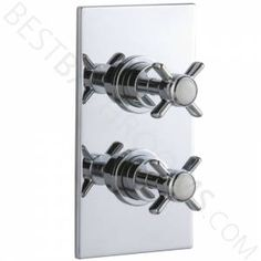 Wentworth Concealed Thermostatic Twin Shower Valve 1 Outlet Option - £82.00 ORDERED 12/09/13