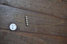 Overview Handmade item Made to order Ships worldwide from Henley-on-Thames, United Kingdom Clock Necklace, Henley On Thames, Gold Pearl Necklace, Unusual Jewelry, Wedding Jewelry, United Kingdom, Vintage Jewelry, Handmade Items, Ships