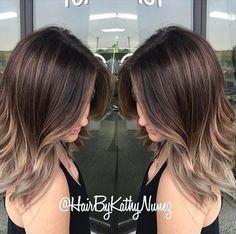 Gorgeous #KenraColor brunette by Kathy Nunez!