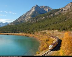 RailPictures.Net Photo: CP 4107 Canadian Pacific Railway EMD FP9 at Exshaw, Alberta, Canada by Matthew Robson