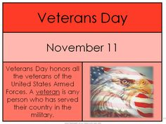 Veterans Day Freebie