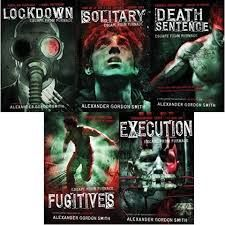 Escape from Furnace series - http://www.fantasticfiction.co.uk/s/alexander-gordon-smith/