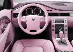car interior   ITS PINK!!!!