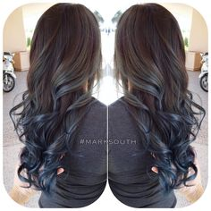 Blue steel Ombre Follow @southmarksouth ⬅️⬅️⬅️
