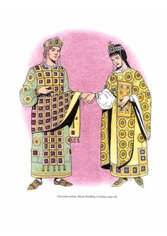 Byzantine Fashions 1 Wedding costume