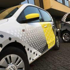 Carsigning | Carwrapping. Autobelettering Seat mii-Volkswagen up