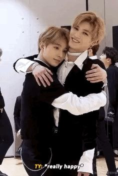 Tag yourself im Jungwoo showing all of my love and affection to Taeyong in a soft hug