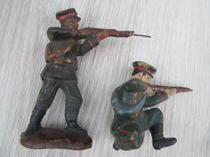 2 bulgarische Soldaten 1. Weltkrieg #3 (*** TOP ***) 10,5 cm Elastolin / Lineol | eBay