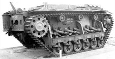 One of the most interesting prototypes based Panzer III's chassis was Minenraumpanzer III - mine clearing/mine destroyer tank. This was another extremely weird vehicle developed by Krupp. The idea was simply to run all over the mines with a reinforced kit of tracks, the high clearance of the hull minimizate the blast to the crew compartement. It proved to be unsuccessful and never entered production.