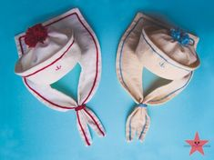 The Sailor's hat and collar for teddy by mishafromrussia on Etsy Sailor Baby Showers, Robin Costume, Sailor Costumes, Baby Halloween Costumes For Boys, Sailor Outfits, Newborn Onesies, Sailor Collar, Diy Hat, School Decorations