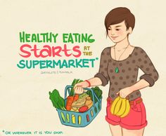 Healthy eating starts at the supermarket.