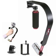 Vidpro Stabilizer Steadycam For Gopro Hero3+ 1 2 Action Cameras And Smartphones