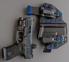 Glock 19 Streamlight Appendix Carry Rig Holster with Shockcord Glock Guns, Weapons Guns, Guns And Ammo, Concealed Carry Holsters, Kydex Holster, Sidecar, Airsoft, Edc, Threaded Barrel