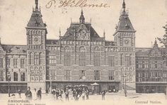 Centraal Station , 1881-1889 , P.J.H. Cuypers