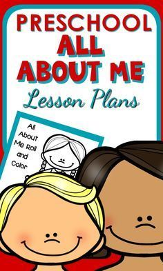 lesson plans on body parts for preschool