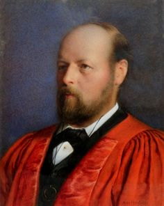 Portrait of Hallam Tennyson, 2nd Baron Tennyson, GCMG, PC , 1852 –1928 | Artware Fine Art