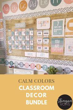 Elementary Classroom Themes, Calm Classroom, Kindergarten Classroom Decor, Modern Classroom, Classroom Layout, Classroom Decor Themes, 3rd Grade Classroom, Classroom Design, Classroom Organization