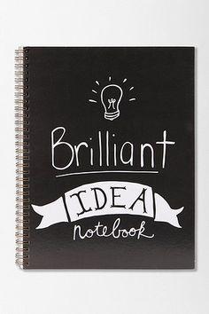 Brilliant Idea Spiral Notebook