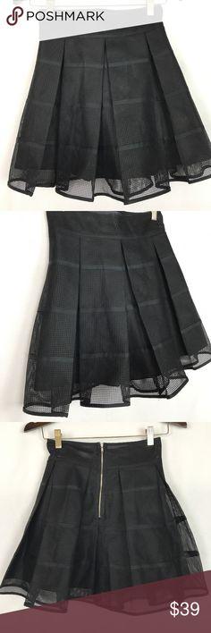 Symbol Black Net Skater Skirt Size Small NWOT Symbol Black Net Skater Skirt Size Small NWOT Symbol Skirts Circle & Skater