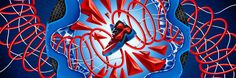 La Boca on levineleavitt.com #illustration #design #advertising #nike #product #productdesign #basketball #baller #colorful #graphic #shapes #shoe #athletic #sports #sneaker #sneakerhead