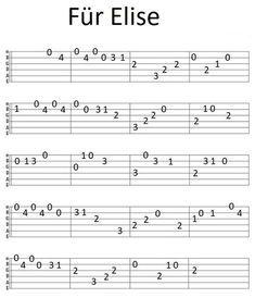 Ukulele Tabs Songs, Easy Guitar Tabs, Guitar Chords And Lyrics, Guitar Chords For Songs, Guitar Notes, Easy Electric Guitar Songs, Guitar Tabs For Beginners, Guitar Chords Beginner, Music Theory Guitar