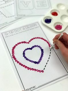 Who Loves February Morning Work? And You Should, Too Who Loves February Morning Work? Stress-Free Valentine's Day Fun Stations (A Differentiated Kindergarten) Arts And Crafts Style House Every teacher wants a stress-free holiday party. Check out these e Valentine's Day Crafts For Kids, Valentine Crafts For Kids, Valentines Diy, Art For Kids, Children Crafts, Valentines Day Activities, Preschool Crafts, Toddler Activities, Preschool Activities