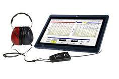 Traemos la Tecnología a su consulta. Nuevo sistema de valoración auditiva por PC. Modelo USB310. Guarde e imprima sus valoraciones auditivas directamente en un ordenador.  Este nuevo sistema le facilita su trabajo, guarda datos de sus pacientes, hace seguimiento y le permite enviar archivos de manera segura y confiable.