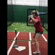 Hitting Drills Softball, Softball Workouts, Softball Gear, Softball Coach, Softball Quotes, Softball Stuff, Girls Softball, Fastpitch Softball, Train System
