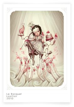 """Alice in Wonderland"" by LostFish (2) ::: #Art #Drawing #Illustration"