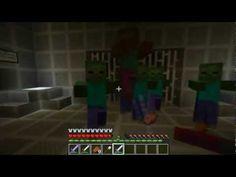 Minecraft mini game Kill the zombies