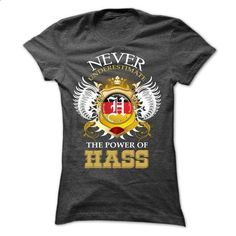 Never Undrestimate The Power Of  HASS - vintage t shirts #tshirt serigraphy…