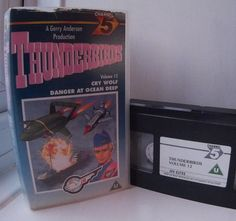 #Thunderbirds volume 12 cry wolf / #danger at #ocean deep vhs video,  View more on the LINK: 	http://www.zeppy.io/product/gb/2/152220900176/