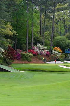 Augusta National Golf Club - got to attend the Wednesday practice round and par 3 tournament in April Augusta Golf, Augusta National Golf Club, Public Golf Courses, Best Golf Courses, Golf Course Reviews, Masters Golf, Golf Simulators, Golf Tips For Beginners, Golf Training