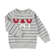 Boucle Crew Neck Sweatshirt | KmartNZ Crew Neck Sweatshirt, Graphic Sweatshirt, Boys Underwear, Color Stripes, Friends In Love, Jacket Dress, Kids Outfits, Sweatshirts, Sweaters